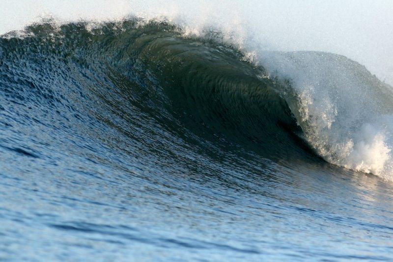 Waves in Playa El Cuco - El Salvador
